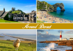 Around Dorset Postcard