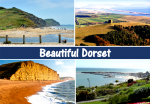 Beautiful Dorset Postcard
