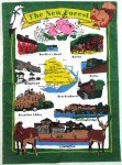 New Forest Tea Towel